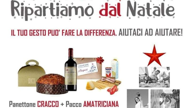 FOOD4RESTART: RIPARTIAMO DAL NATALE!