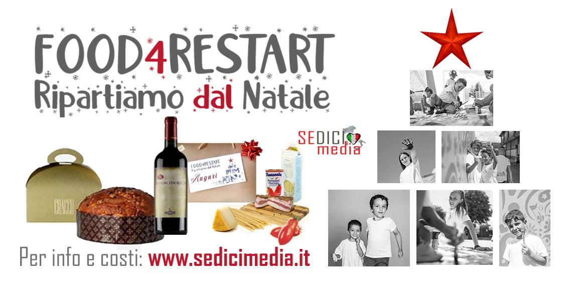 FOOD4RESTART: RIPARTIAMO DAL NATALE!