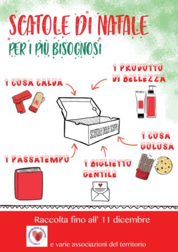 """""""Scatole di Natale"""", un piccolo gesto per regalare un sorriso ai più bisognosi"""